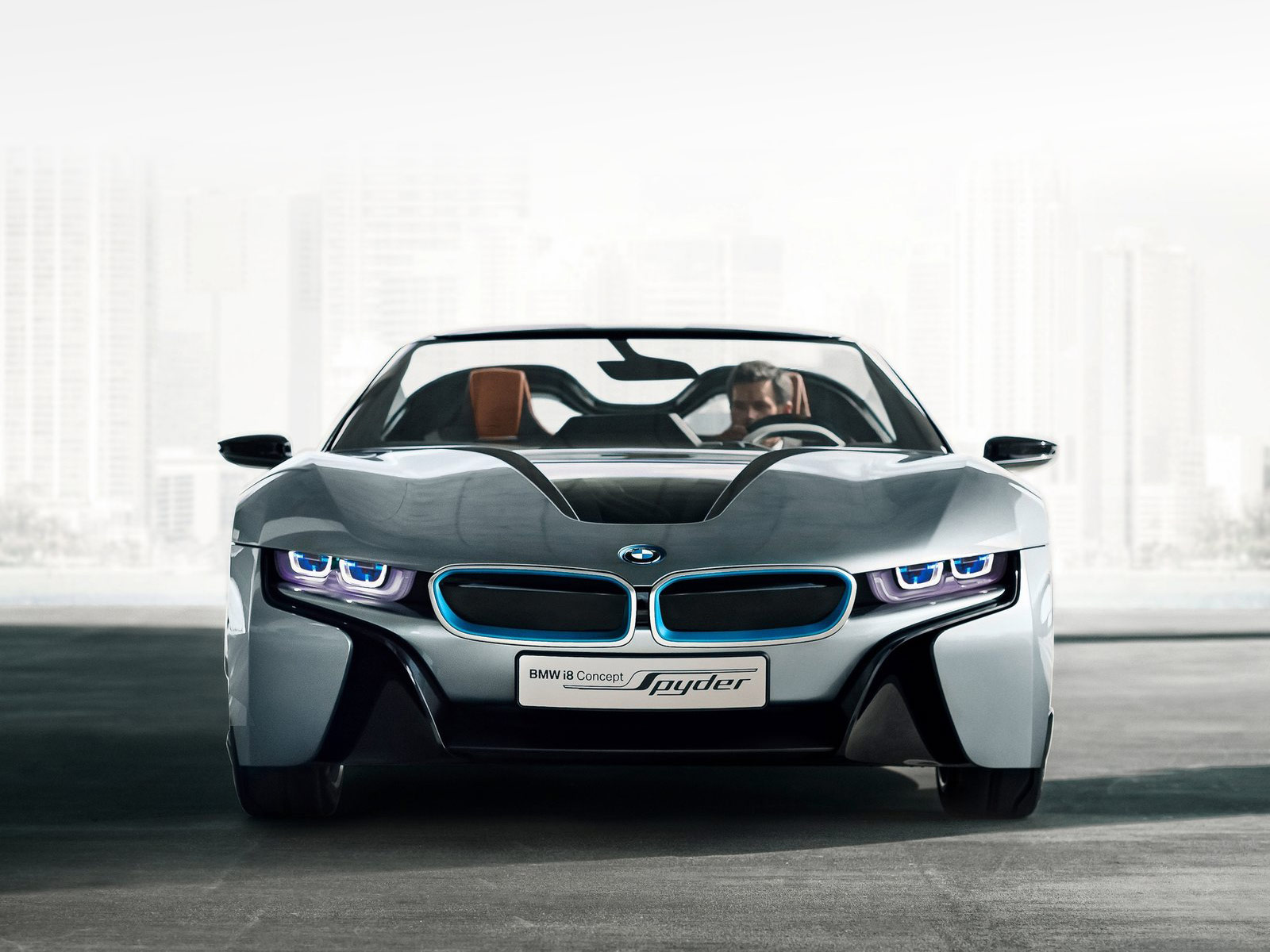 gambar mobil bmw i8 spyder concept 2013. Black Bedroom Furniture Sets. Home Design Ideas