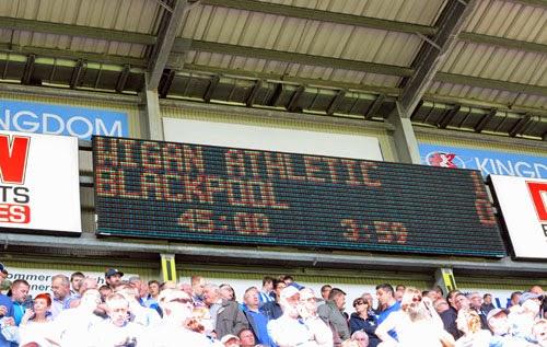 Wigan 1 v Blackpool 0, DW Stadium, Wigan.