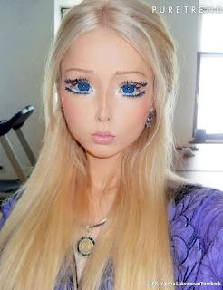 fille refaite en barbie 1