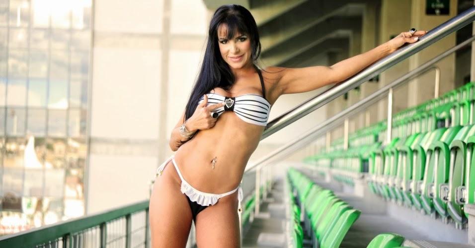 Bela do Atlético Mineiro 2012 - Alessandra