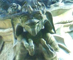 Les gargouilles de la chapelle de Bethleem Gremlins
