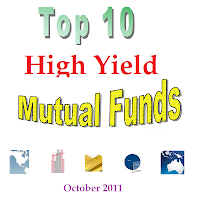 Top 10 Highest Yielding Mutual Funds Oct 2011