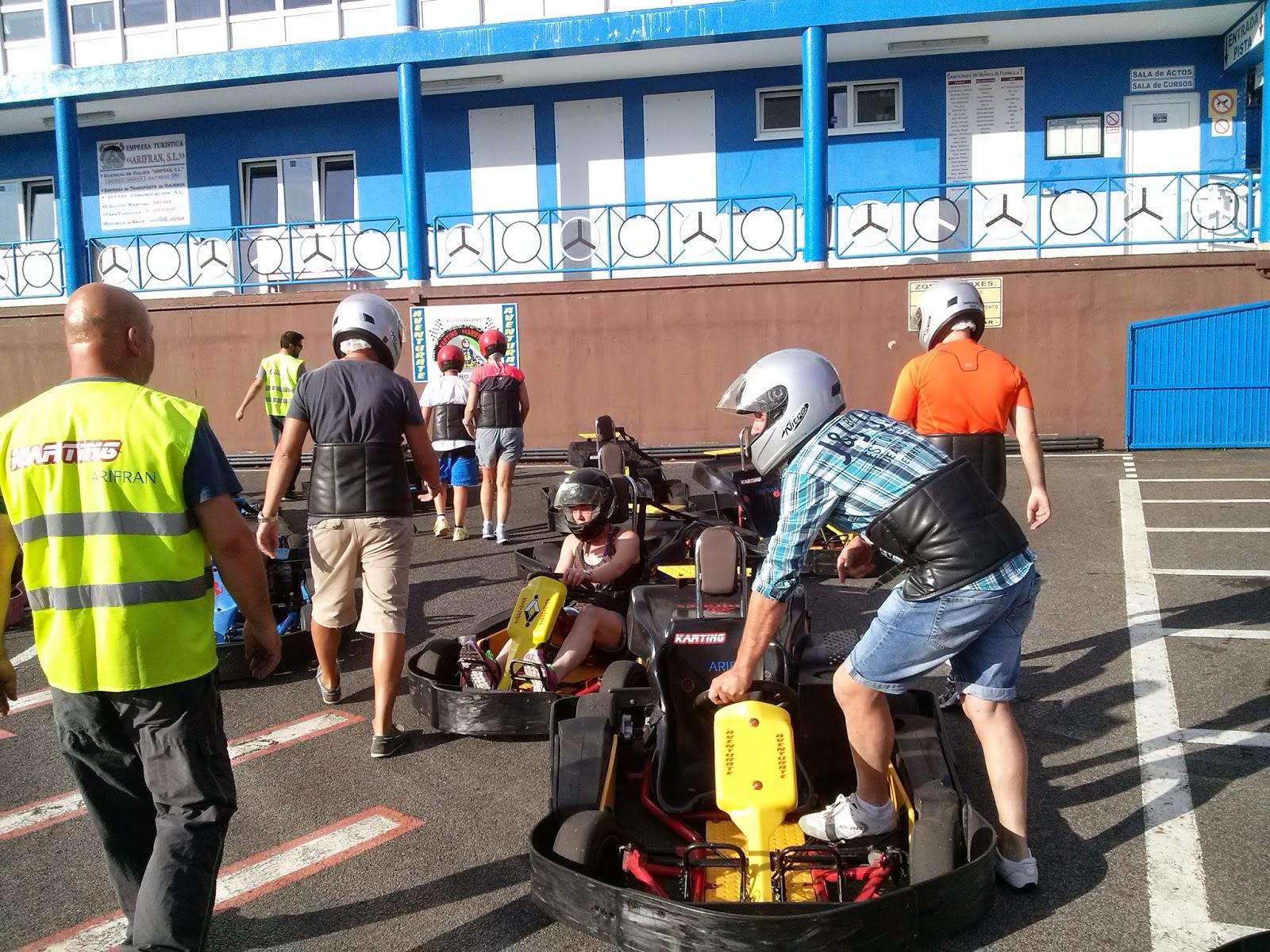 galicia viveiro circuito karts carreras