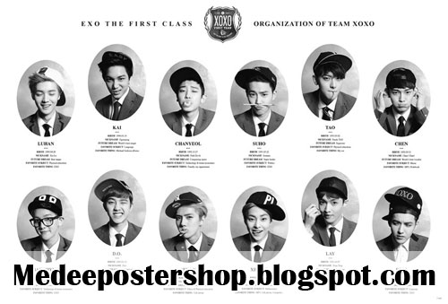 EXO The Frist Class Poster
