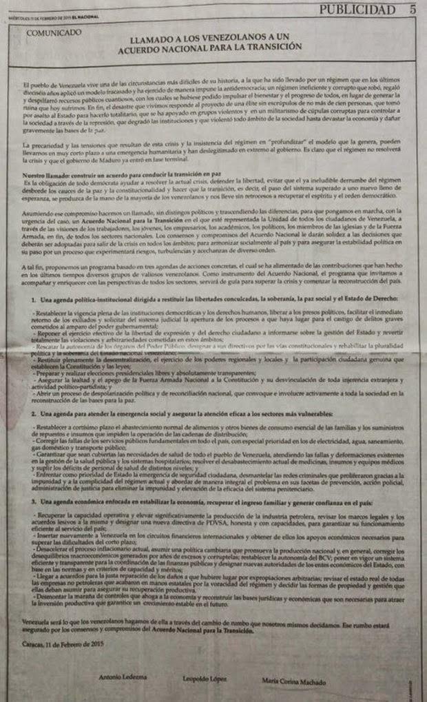 http://www.vtv.gob.ve/articulos/2015/02/19/lea-el-comunicado-del-atentado-golpista-firmado-por-antonio-ledezma-leopoldo-lopez-y-maria-corina-machado-9038.html