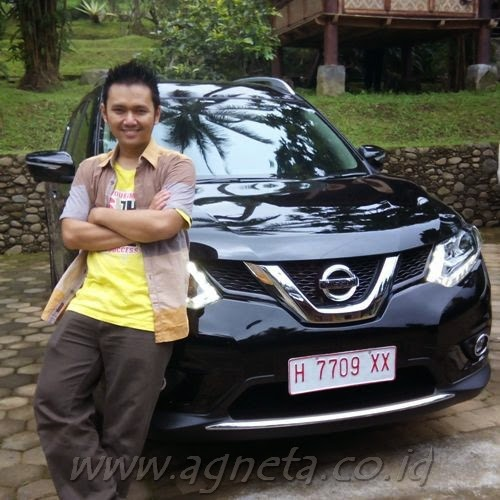 Maulia, Agneta 3 Bulan = All New X-Trail 2015