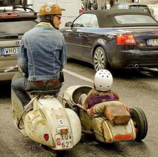 Mercenary Garage Scooter Sidecar
