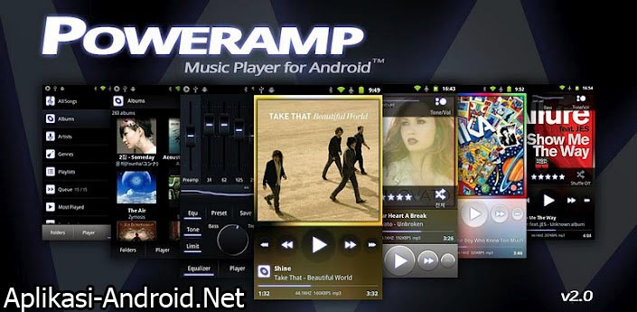 Poweramp Music Player, Aplikasi Musk Player yang Greget