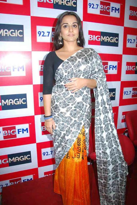 Vidya Balan At  Big FM Photos gallery pictures