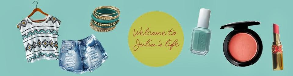 Welcome to Julia's Life