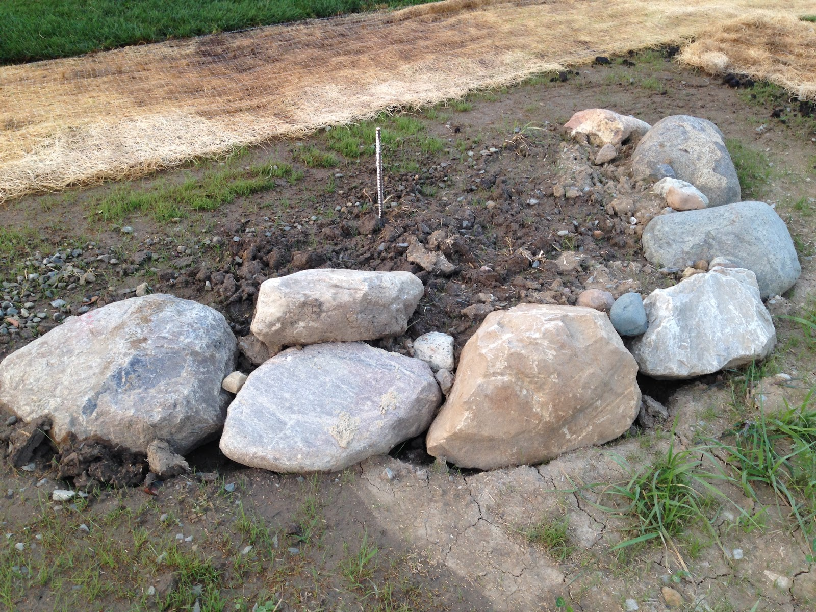 My rock addiction and the one that almost got away - Landscaping with large rocks ...