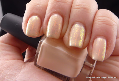 Picture Polish Nude with Essence Night in Vegas