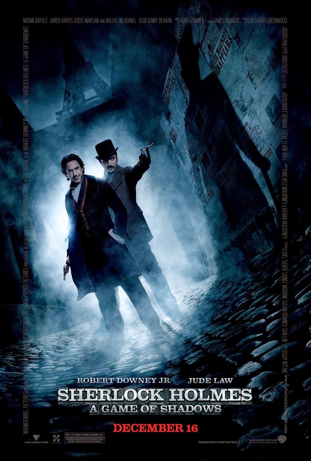 Sherlock Holmes 2 A Game Of Shadows เชอร์ล็อค โฮล์มส์ 2 เกมพญายมเงามรณะ [HD][พากย์ไทย]