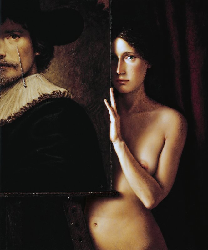 Marisa Oil Painting Touhou
