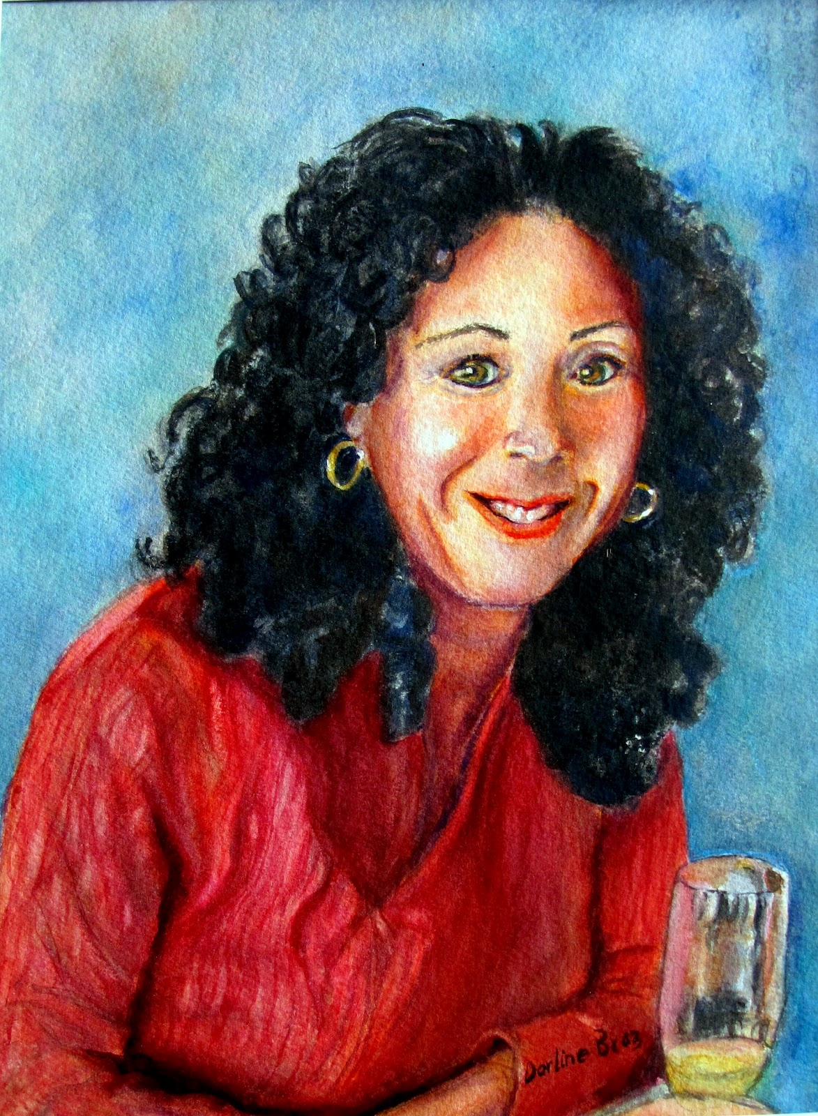 Realistic Watercolor Portraits Watercolor Portraits