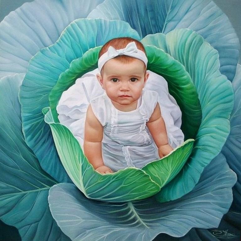 ...Fotorealismo al oleo... Oleos-de-ni%C3%B1as-hermosas+(7)