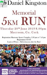 5k in Macroom - Thurs 20th June 2019