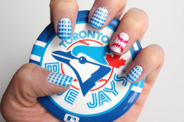 Syl And Sam Tutorial Baseball Nails
