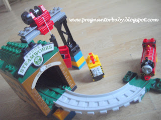 MEGA Bloks,Thomas the tank engine,The sodir steam works