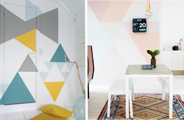 Watercolours and Geometrics Swoon Worthy