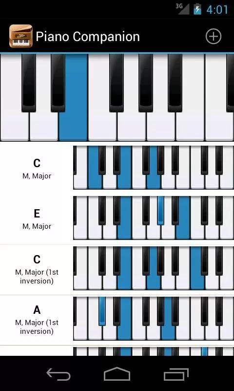 С фортепиано на знакомство гаммами