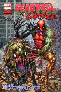 Catch up before AXIS: Carnage with Cullen Bunn's Deadpool vs. Carnage