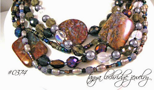 Pietersite & Pearl Necklace