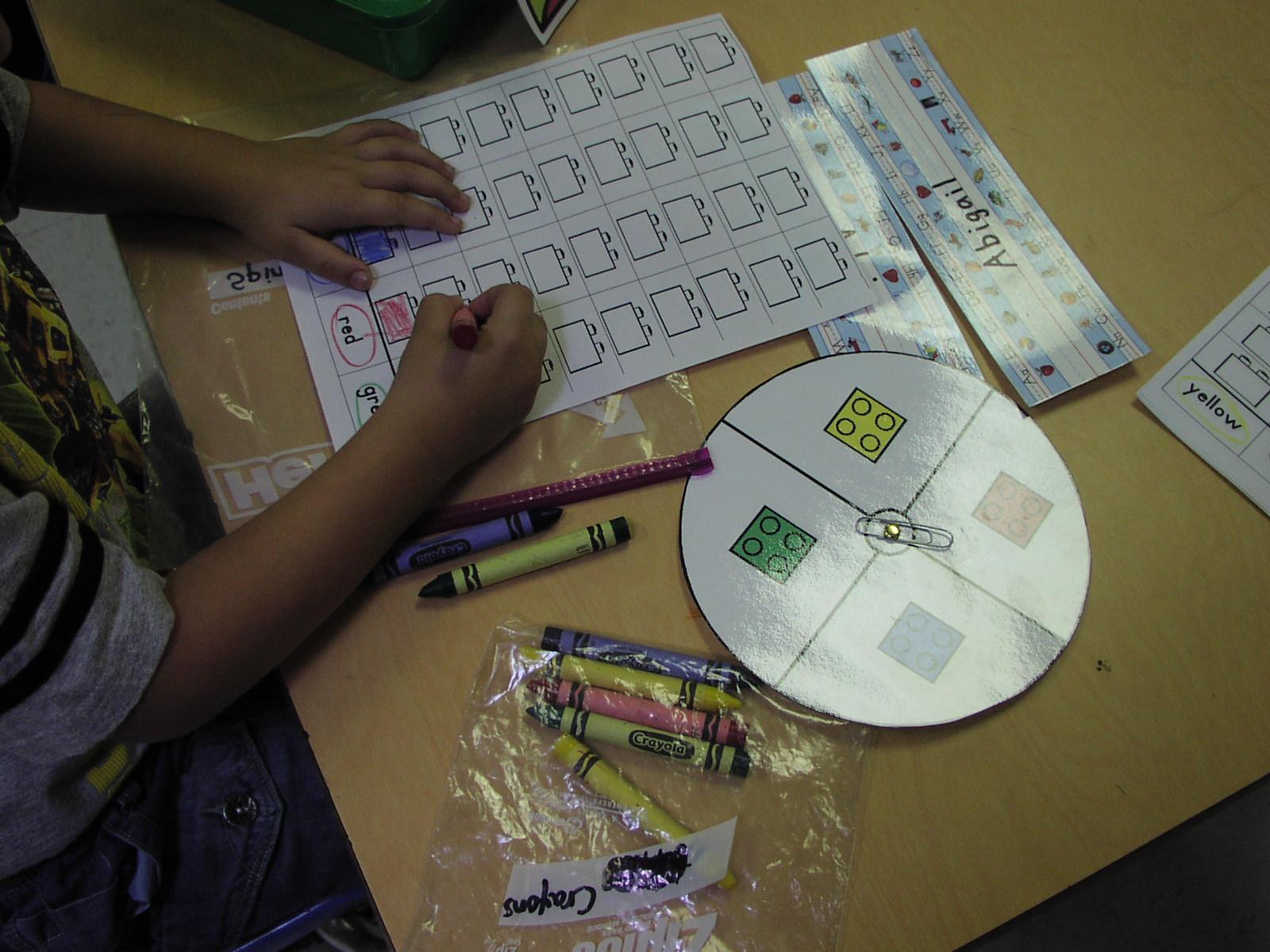 Keen On Kindergarten: Math Work Stations