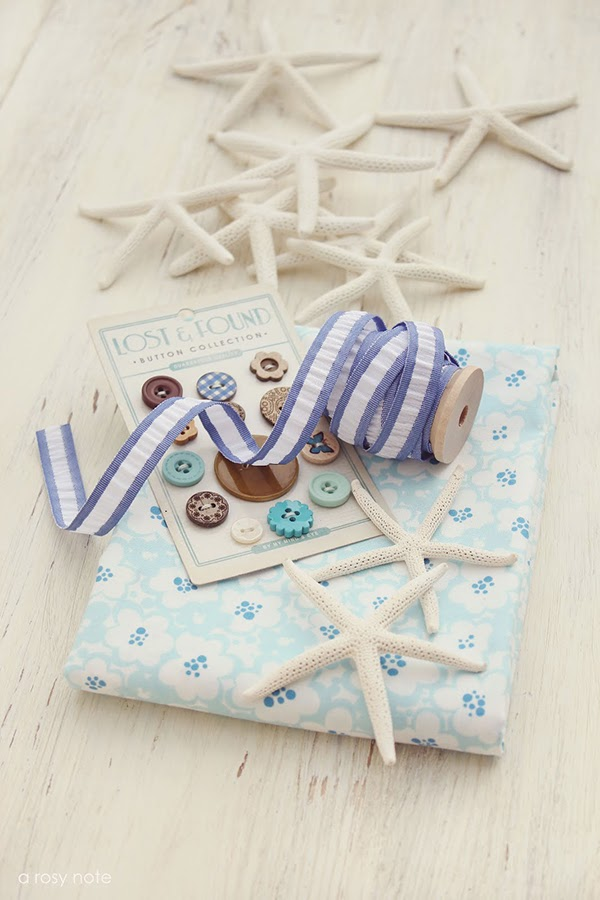 Nautical moodboard from Tricia at a Rosy Note