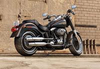 Harley-Davidson Fat Boy Special 110th Anniversary Edition (2013) Rear Side
