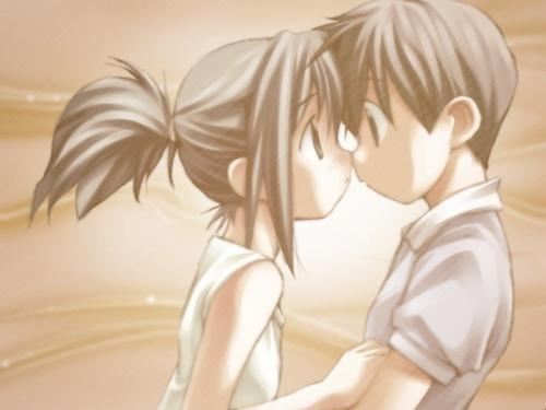 Get Largest Collection Of Animated Wallpapers: Cute Anime Couple