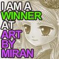 Winner at ArtbyMiran