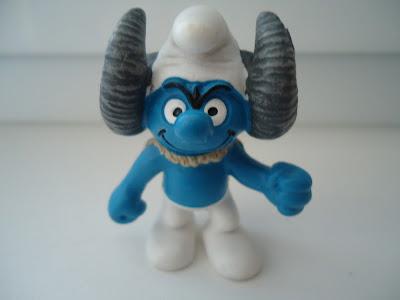 Schleich Smurf Figure Aries Smurf