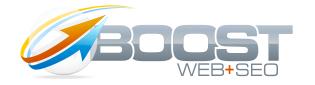 Boost Web SEO Logo