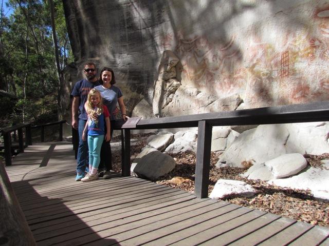 The Art Gallery site at Carnarvon Gorge