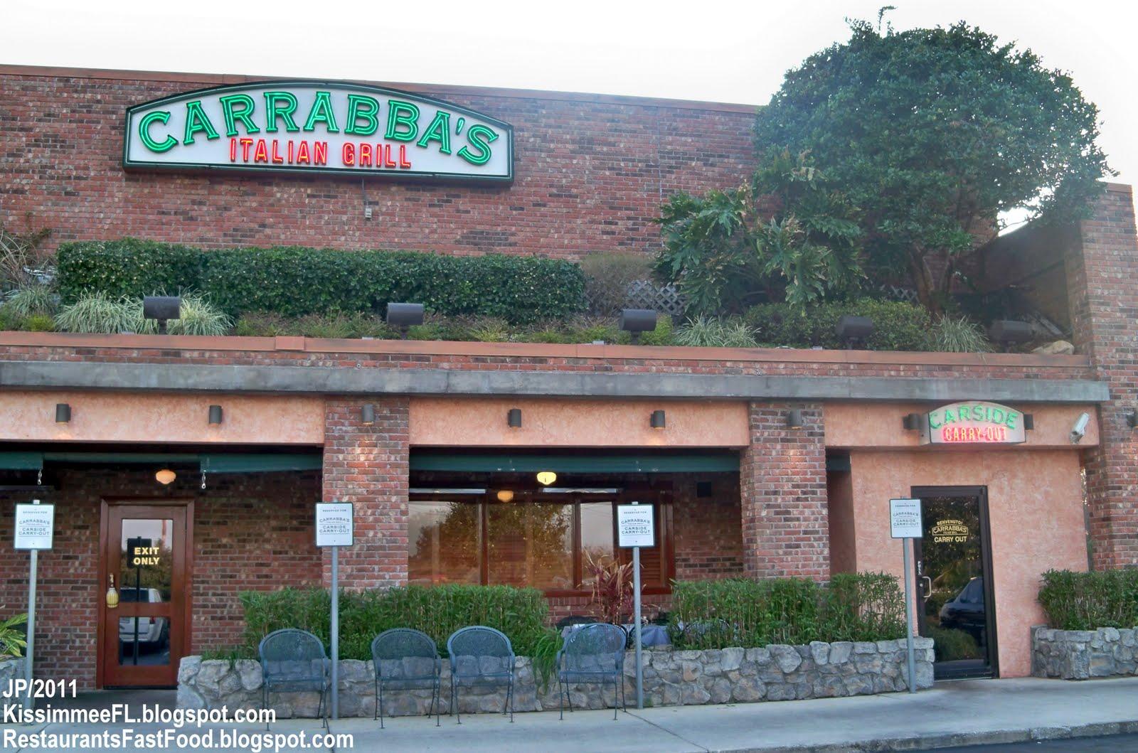 Carrabba S Kissimmee Florida Italian Restaurant Grill Fl
