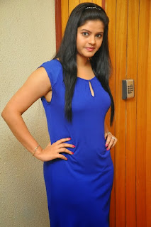 Actress Preethi Das  Pictures in Short Dress at Kangaroo Movie Audio Launch Function  0024