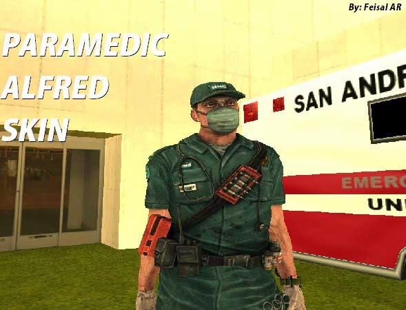 paramedic gta skin