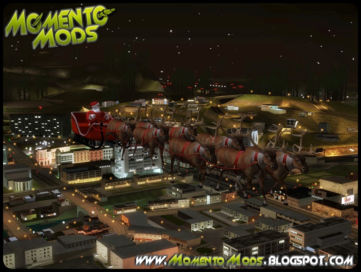 GTA SA - Trenó Do Papai Noel