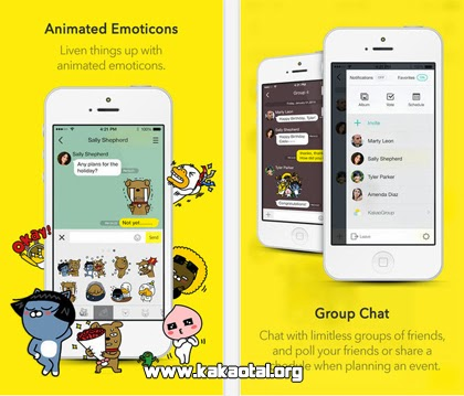 KakaoTalk para iPhone gratis
