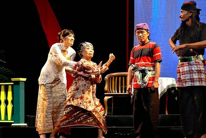 Image result for teater lenong