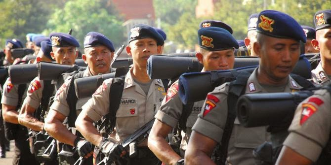 Polda Papua Barat Tambah 500 Personil Brimob