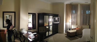 Hotel rooms can be broken into and women need to take precautions.