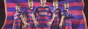 Conheça as novas camisas do Barcelona