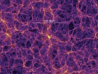 Materia oscura a gran escala