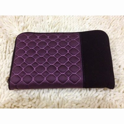 IZZY SIMPLE PURPLE, APLIKASI BORDIR, BAHAN SUEDE, BAHAN KANVAS