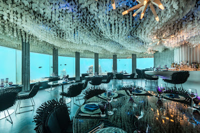 Dine with the fishes at NIYAMA Maldives Per AQUUM Resort