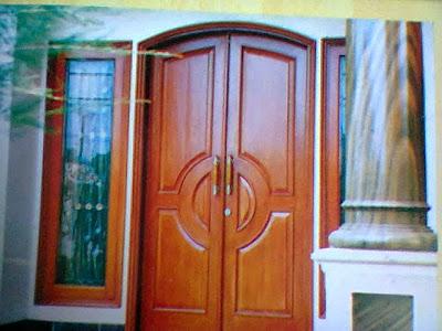 Gambar Kusen Pintu Gendong Lengkung