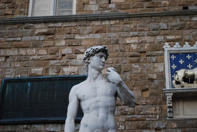 David vor Palazzo Vecchio