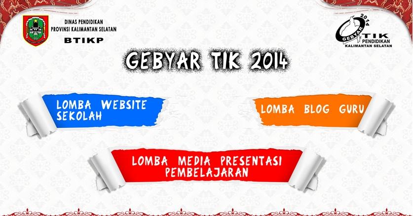 Tiga Orang Guru Kota Banjarbaru Ikuti Lomba Gebyar Tik Tahun 2014 A Special Web For Special